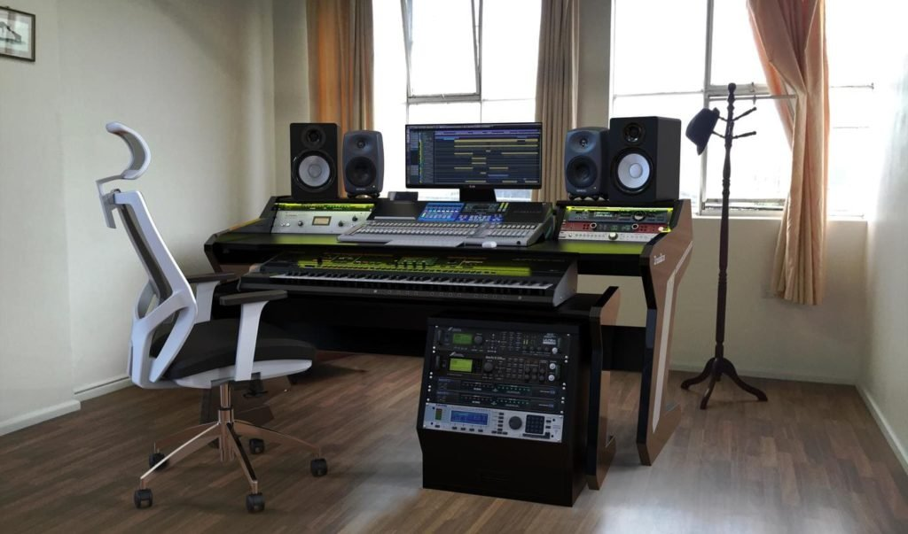5 Best Music Studio Desks For The Producer Who Wants It All