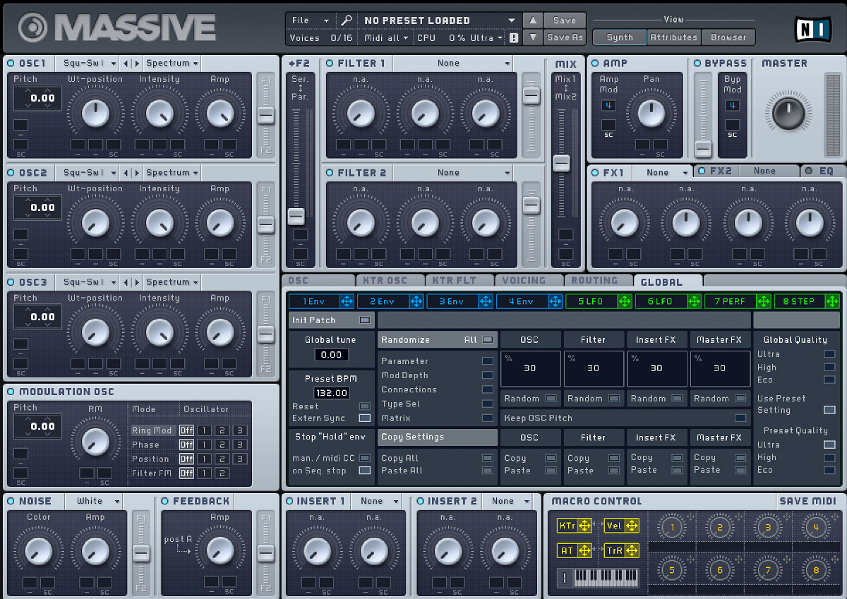 Native Instruments Massive Synthesizer