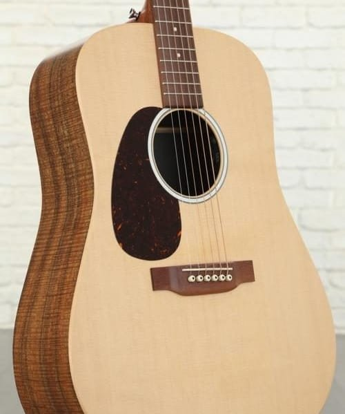 Martin D-X2E Dreadnought Acoustic-Electric Guitar