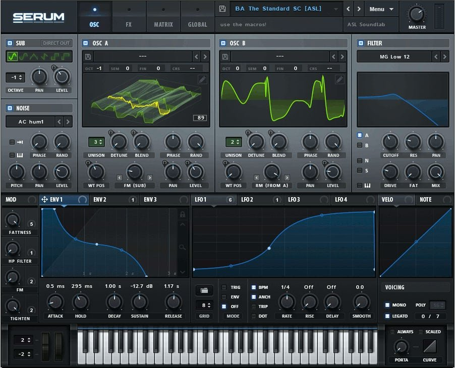 Xfer Serum Wavetable Synthesizer
