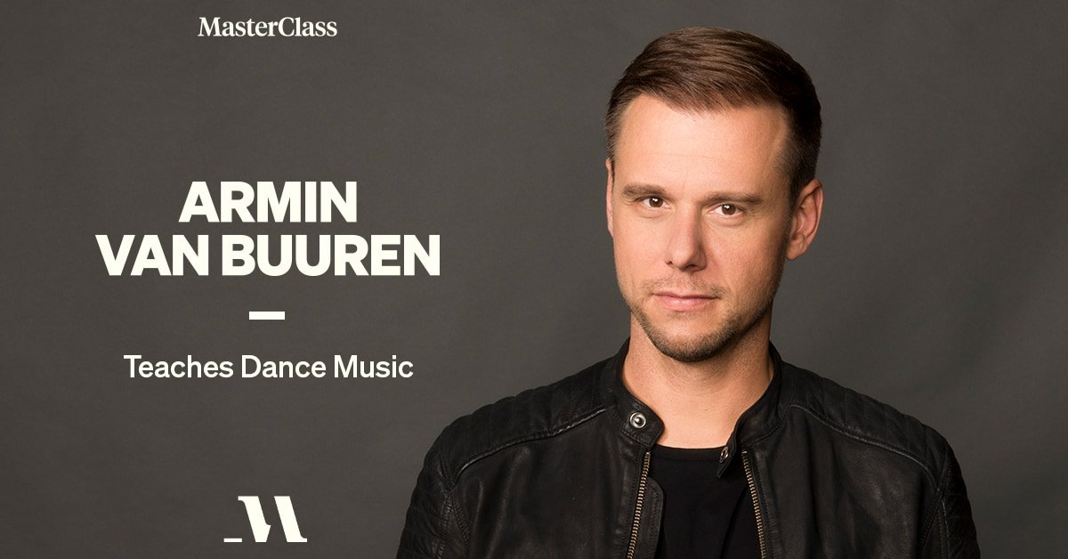 Masterclass: Armin Van Buuren Teaches Dance Music
