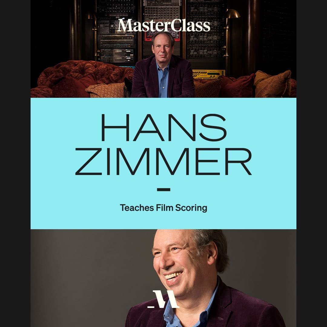 Masterclass: Hans Zimmer Teaches Film Scoring